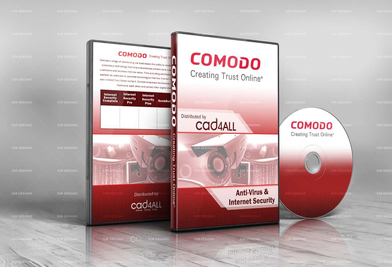 Comodo Software Cover Design by Shaun Robertson