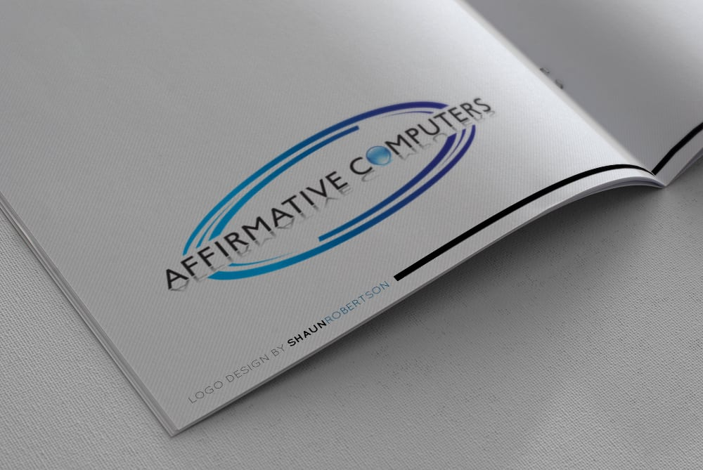 Affirmative Computers Logo Design by Shaun Robertson