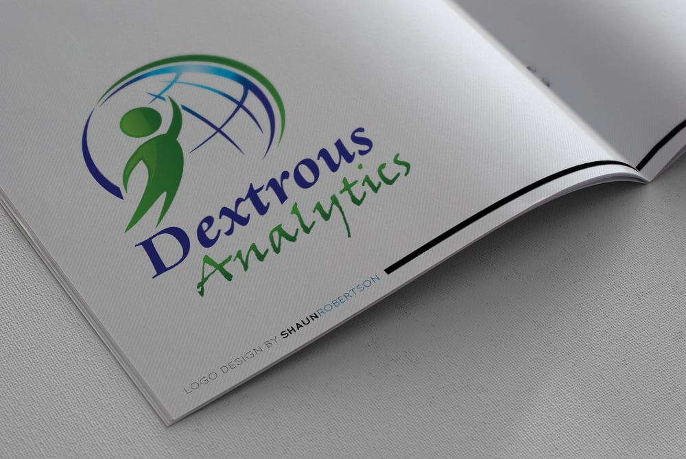 Dextrous Analytics Logo Design by Shaun Robertson