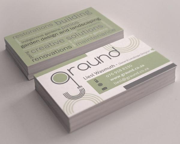 Graund Business Card Design by Shaun Robertson